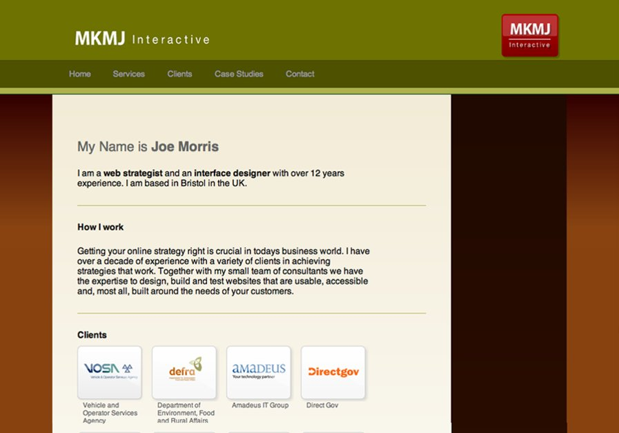 A great web design by MKMJ Interactive, Bristol, United Kingdom: