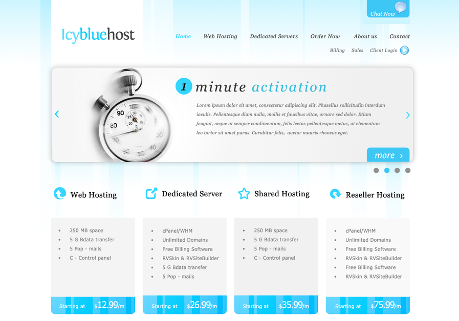 A great web design by Bobcares' Creative, Kochi, India: