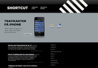 A great web design by Shortcut AS, Oslo, Norway:
