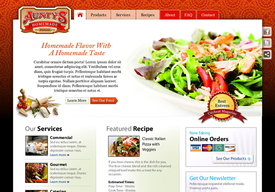 A great web design by Crytion DS, Cincinnati, OH: