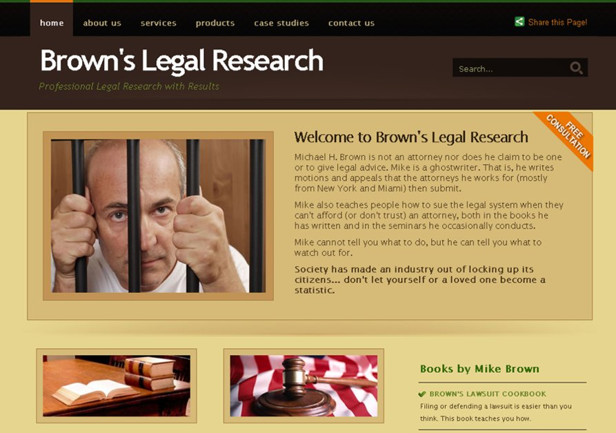 A great web design by Daniel J. Whelan II, St Louis, MO: