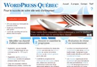 A great web design by WordPress-Québec.com, Montreal, Canada: