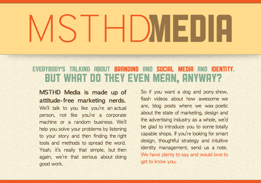 A great web design by MSTHD Media, Philadelphia, PA: