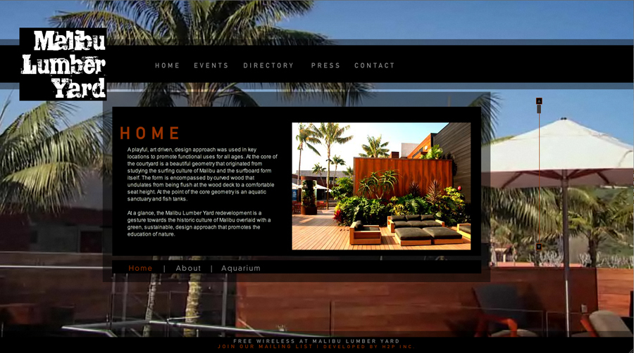 A great web design by StackHouse Media, Los Angeles, CA: