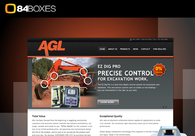 A great web design by 84boxes, Little Rock, AR: