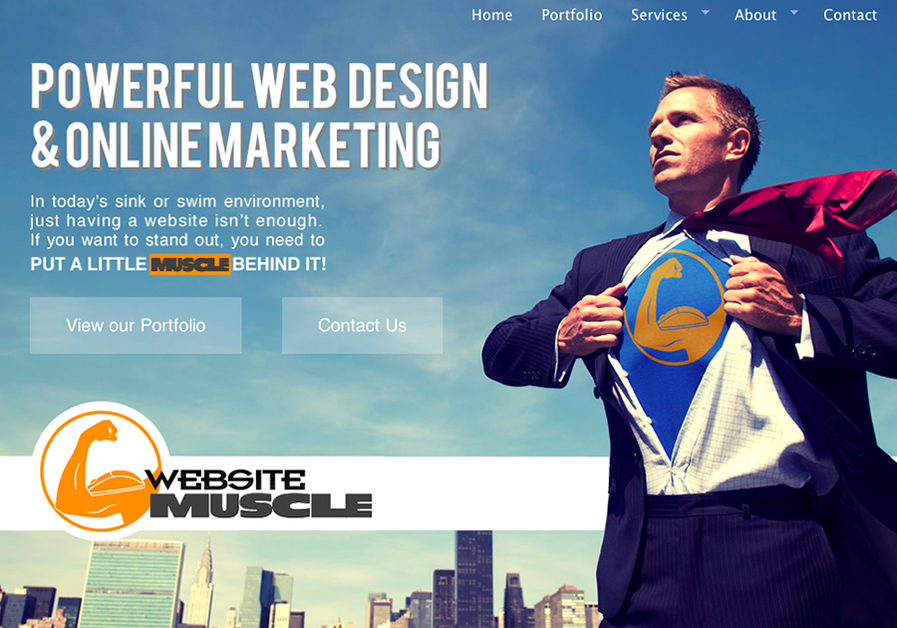 A great web design by Website Muscle, Los Angeles, CA:
