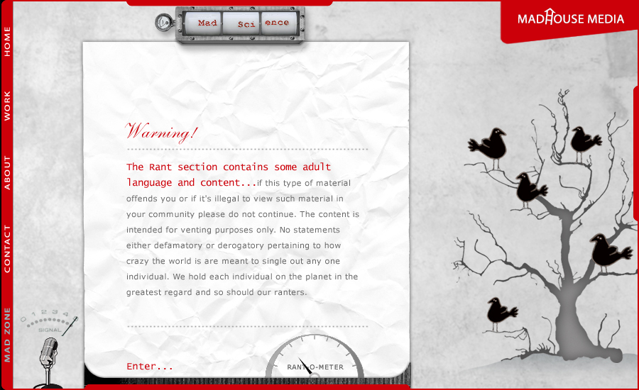 A great web design by Lauren Trimble Designs, Montreal, Canada: