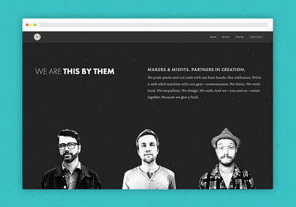 A great web design by This by Them, Los Angeles, CA: Responsive Website, Marketing Website , Internet , Ruby on Rails