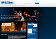 A great web design by Bluegill Creative, Knoxville, TN: