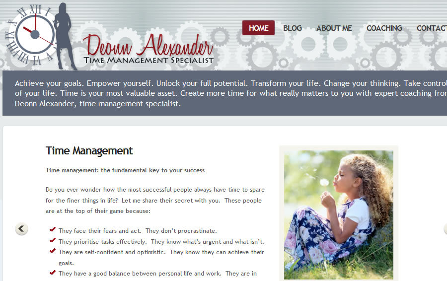 A great web design by Dustin Ward Web Development, Tulsa, OK: