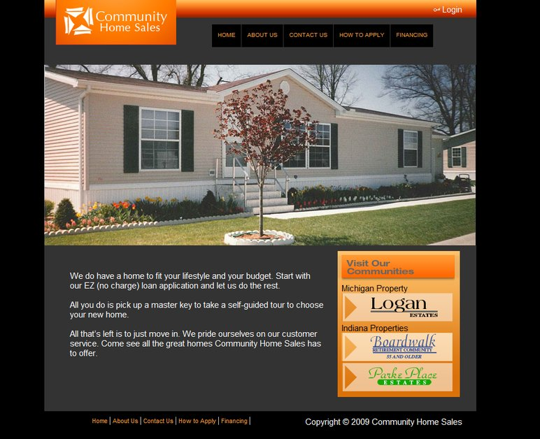 A great web design by NuType, Grand Rapids, MI: