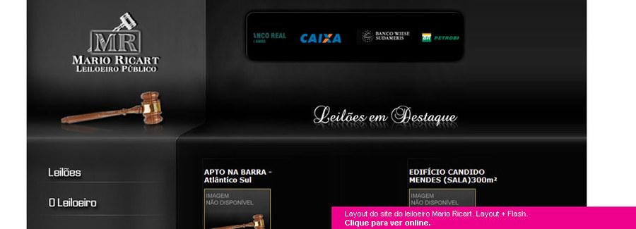 A great web design by Mariana Lucchesi, Rio de Janeiro, Brazil:
