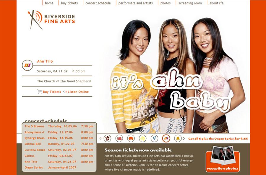 A great web design by Harrington Design Company, Jacksonville, FL:
