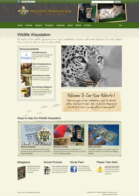A great web design: