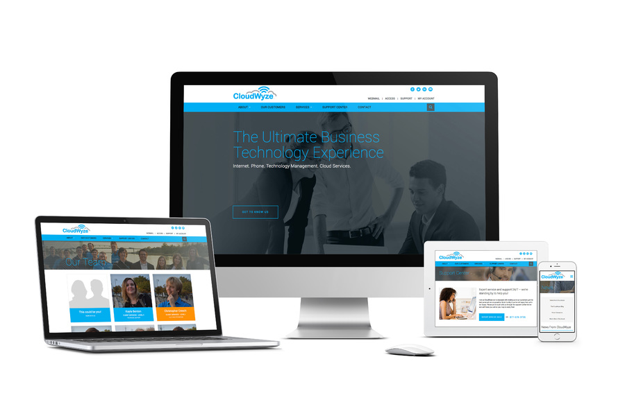 A great web design by Wilmington Design Company, Wilmington, NC: