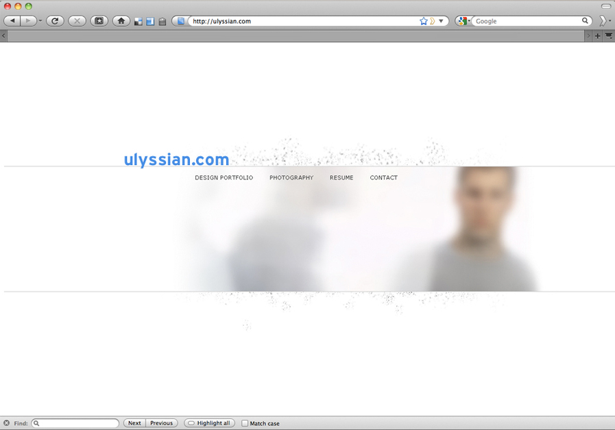 A great web design by ulyssian.com, Chicago, IL: