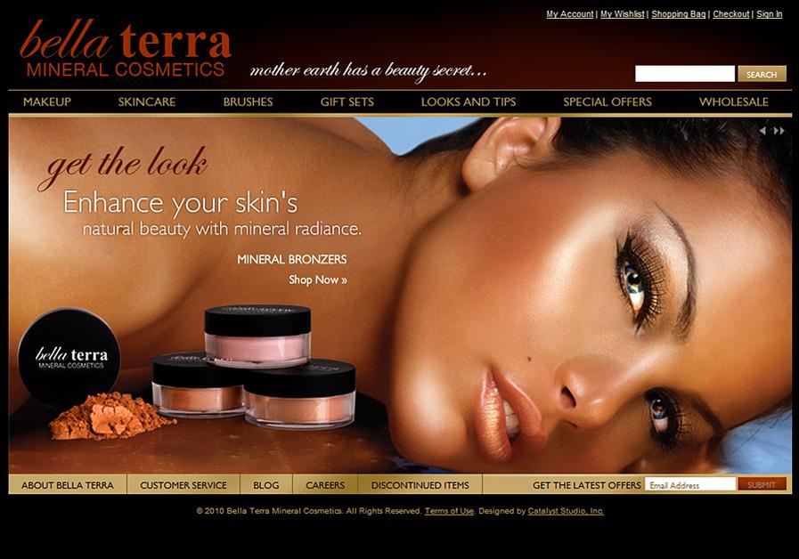A great web design by Catalyst Studio, Inc., Houston, TX: