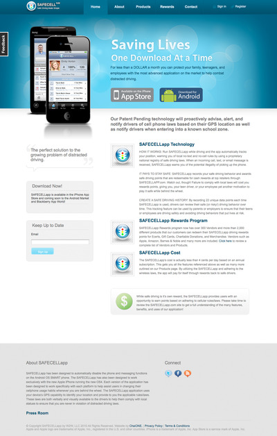 A great web design by Roy Vergara, Houston, TX:
