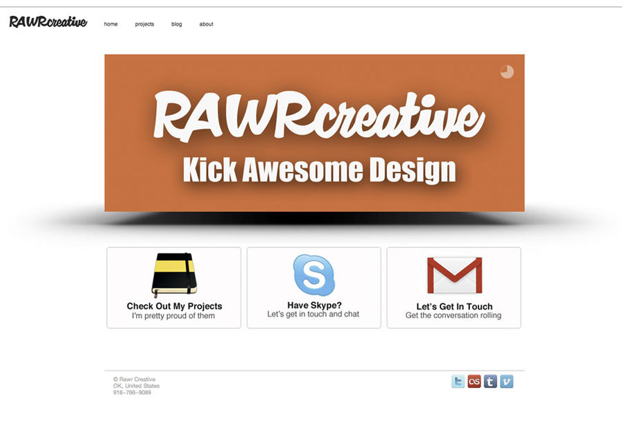 A great web design by Rawr Creative , Bartlesville, OK: