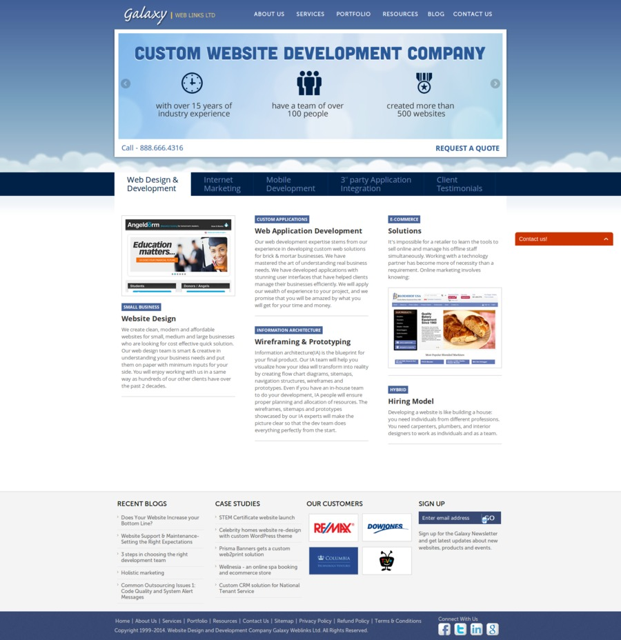 A great web design by Galaxy Weblinks Inc, Cambridge, MA: Software