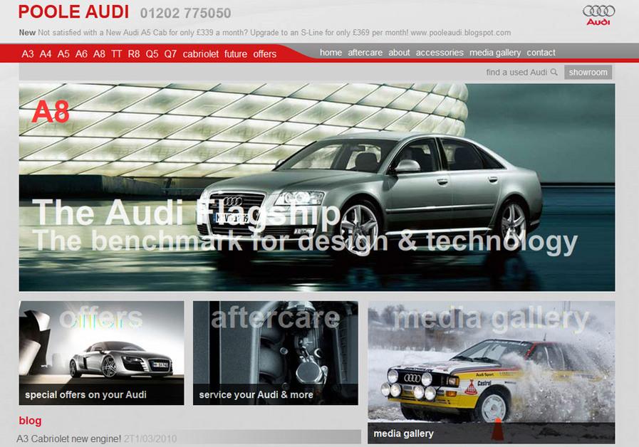 A great web design by Mark Wallman, London, United Kingdom: