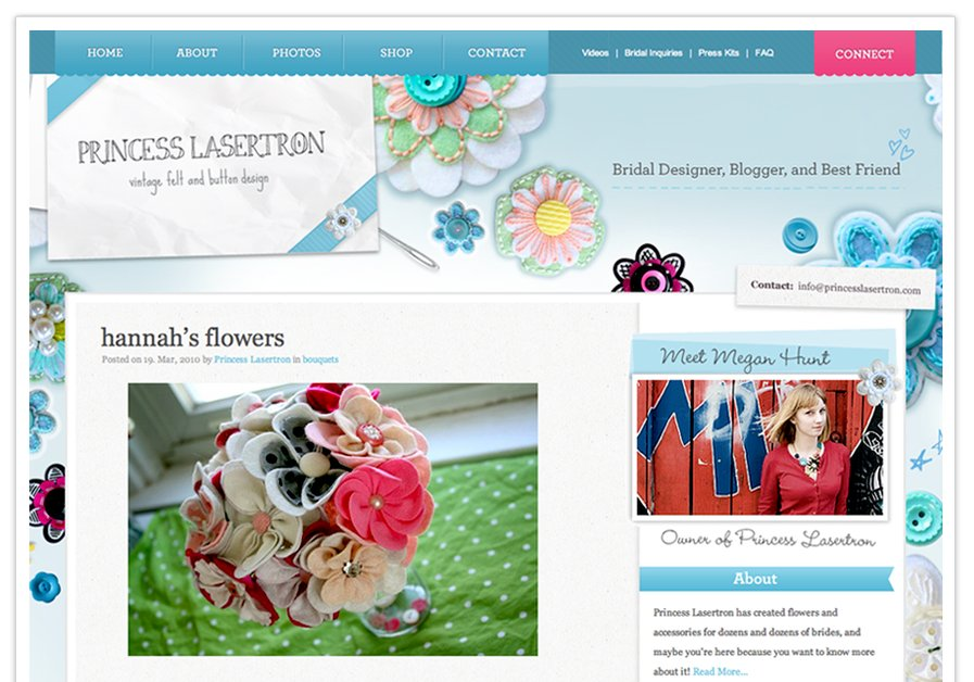 A great web design by DownsDesign, Omaha, NE:
