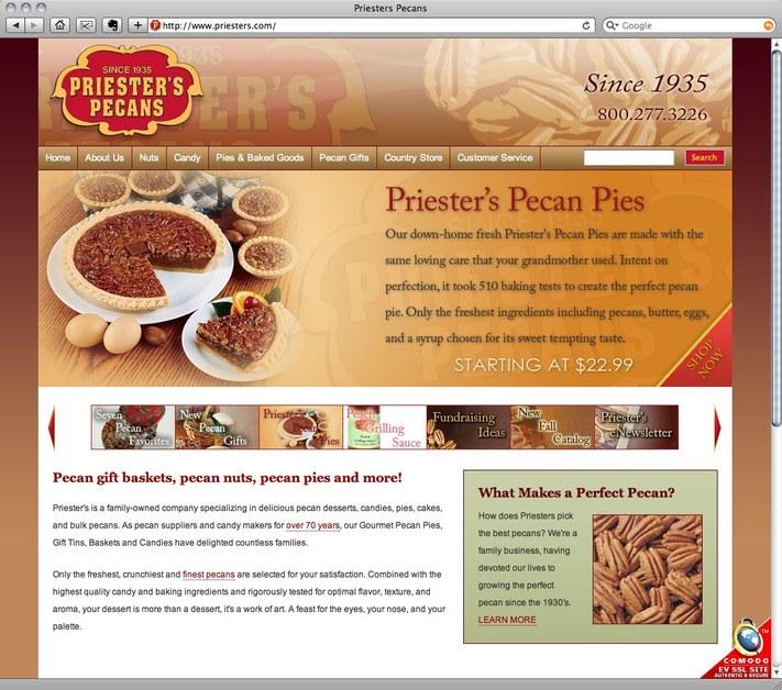 A great web design by Kinetic Communications, Birmingham, AL: