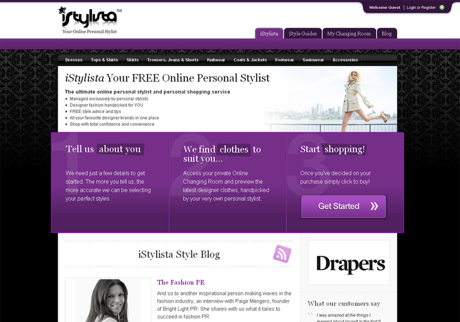 A great web design by DeepBlueSky Digital, Bath, United Kingdom: