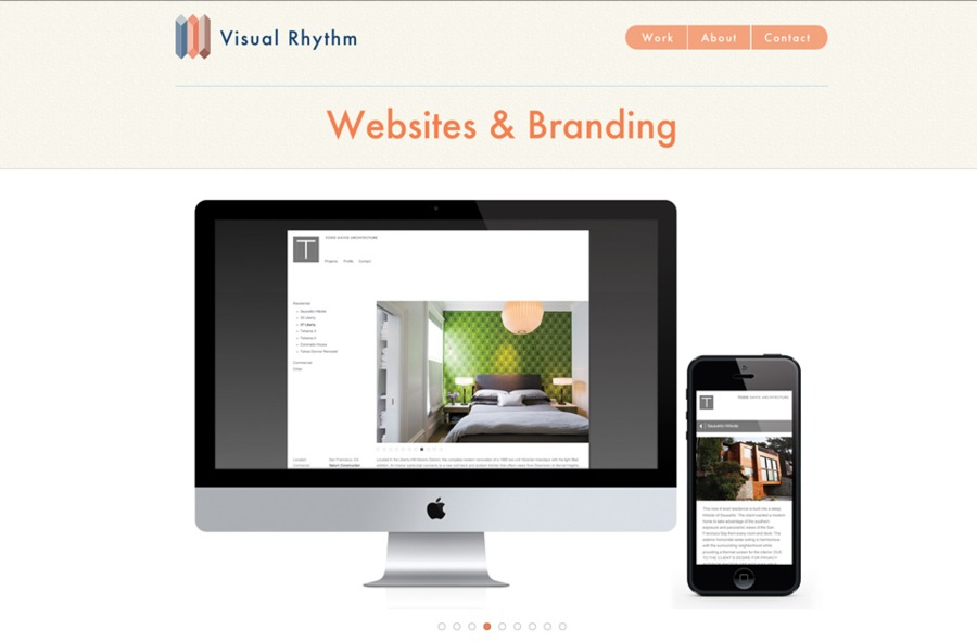 A great web design by Visual Rhythm, San Diego, CA: