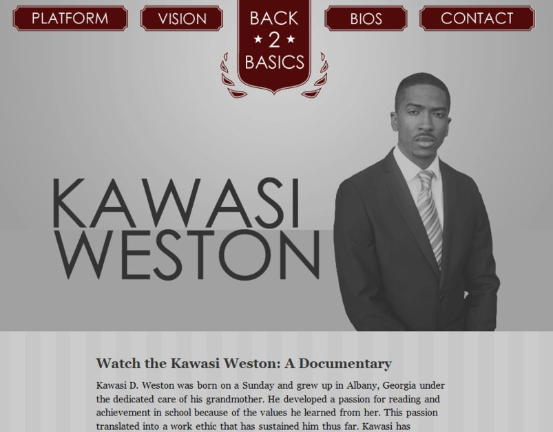 A great web design by Sekou Terrry, Atlanta, GA: