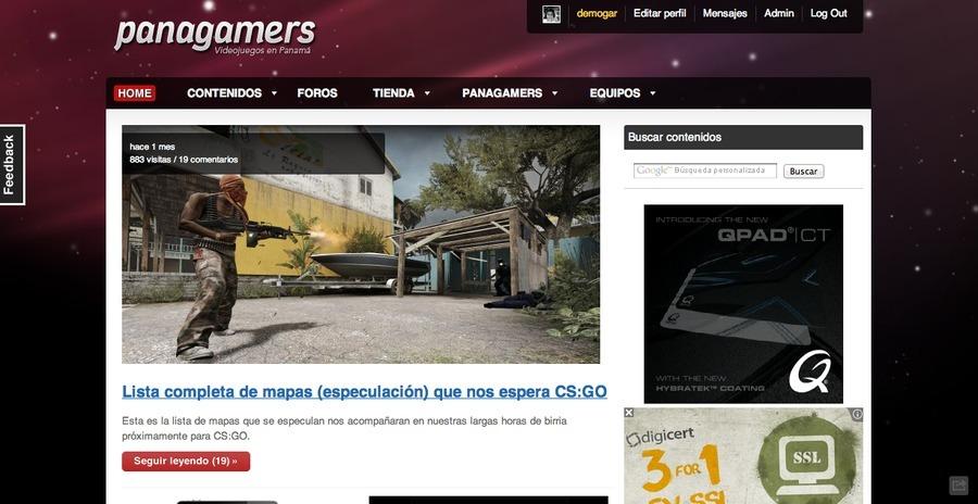 A great web design by Pixmat Studios, Panama City Panama, Panama: