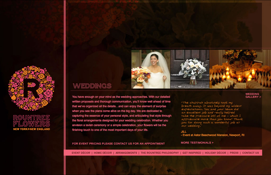 A great web design by JLK Creative, Inc., New York, NY: