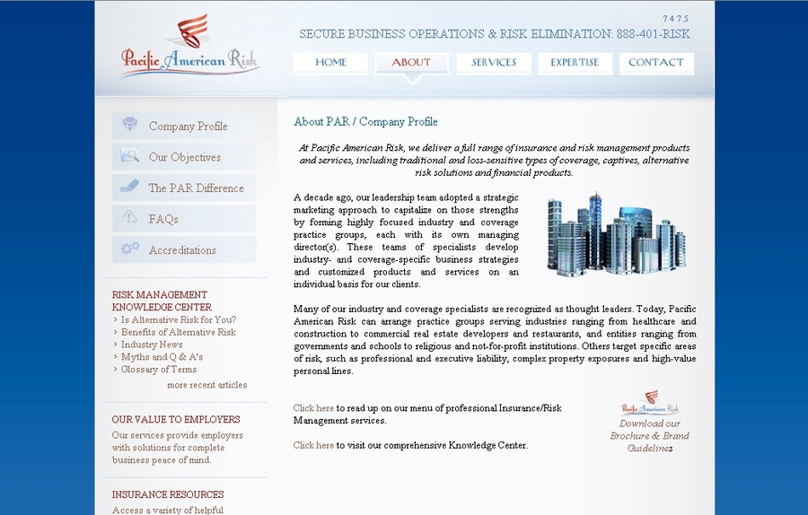 A great web design by Image Appeal , New York, NY: