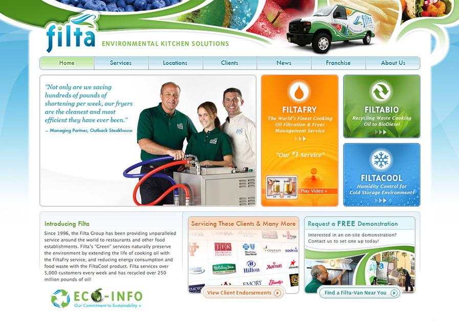A great web design by Steam Studios, Orlando, FL: