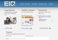 A great web design by EIQ Consultoria, Sao Paulo, Brazil: