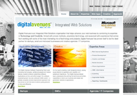 A great web design by Digital Avenues, Calcutta, India: