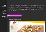A great web design by Josh Minnich, Chicago, IL: