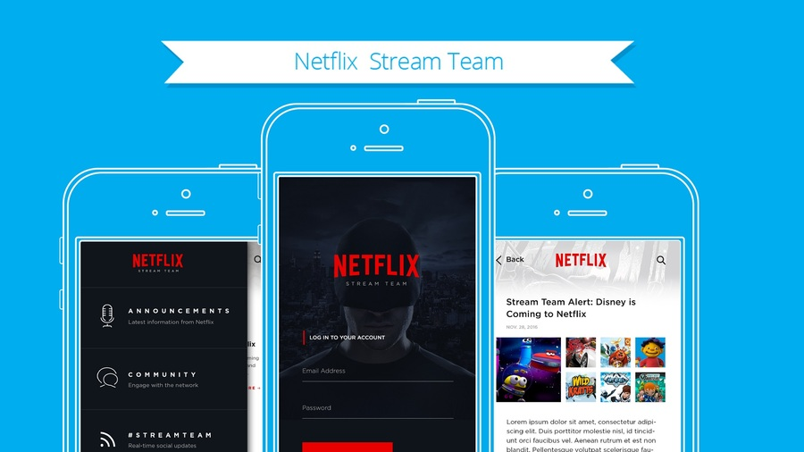 A great web design by 648 Group, Los Angeles, CA: Mobile App , Social/Community , Entertainment , iOS (Objective-C)