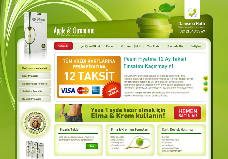 A great web design by Serkan Alp - Freelancer, Istanbul, Turkey:
