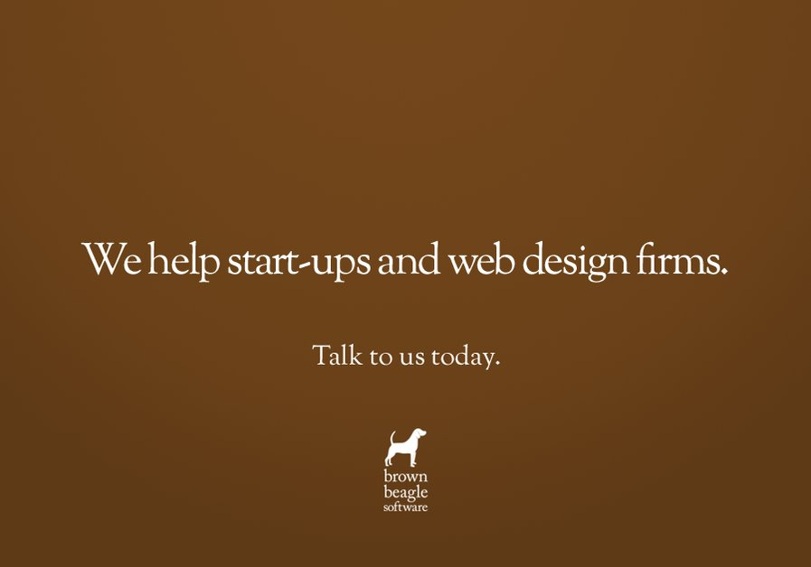 A great web design by Brown Beagle Software, Perth, Australia: