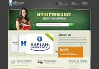 A great web design by Kat Kennedy, Denver, CO:
