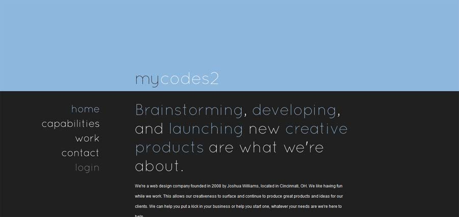 A great web design by MyCodes2, Cincinnati, OH:
