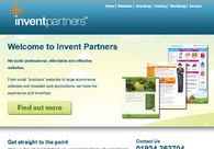 A great web design by Invent Partners, Leeds, United Kingdom: