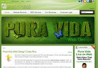 A great web design by Pura Vida Web Design, San Jose, Costa Rica:
