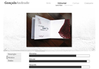 A great web design by Gonçalo Andrade, OPorto, Portugal: