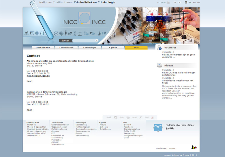 A great web design by Prosite, Tienen, Belgium: