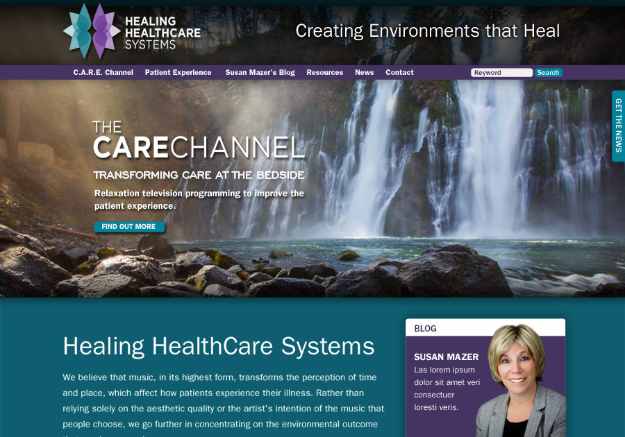 A great web design by Andiamo Creative, Chicago, IL: Website, Marketing Website , Healthcare, Wordpress