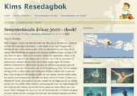 A great web design by Kim Fransman, Stockholm, Sweden: