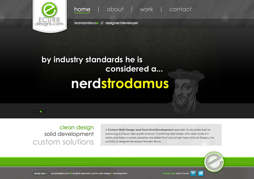 A great web design by Ecurbdesigns, Provo, UT: