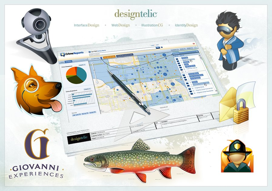 A great web design by Designtelic, Salt Lake City, UT:
